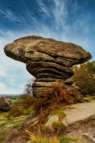 "brimhamrocks rocks yorkshire nationaltrust luminar4 landscape daysout travel canon7dii flickrtravelaward flickrexploreme thecuriousrockformationsatbrimhaminnidderdalearescatteredoversome50acresonbrimhammoorandprovideagreatvarietyofweirdandwonderfulshapesmanyofthegrittymonstrositiessuggestallmannerofthings includingelephants hippos bears mushroomsandsomearesaidtohaveassociationswithdruids mothershiptonandeventhedevilhimself ""flickrtravelaward"""