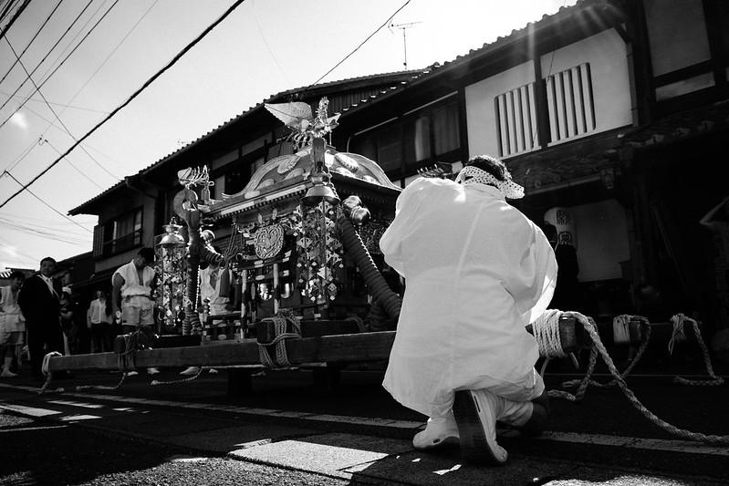 The end of the festival (Shiga, Japan)
