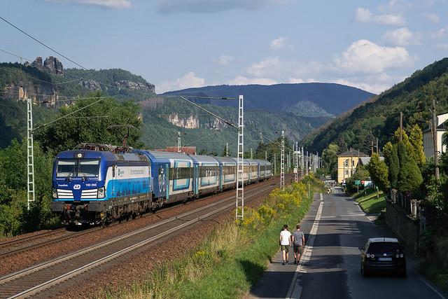 193 293 ČD - České dráhy a.s.   Krippen   August 2020