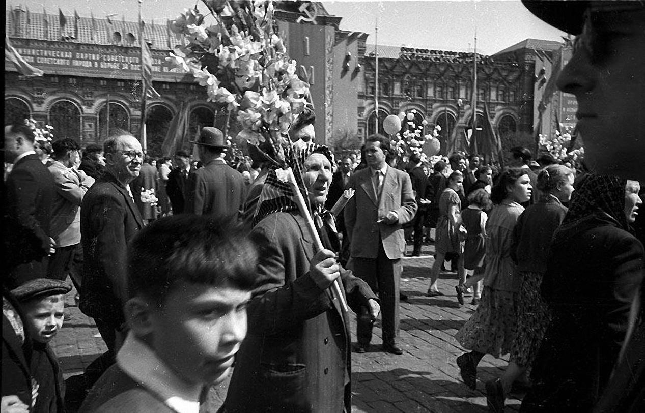 1959. Демонстрация 1 мая. Красная площадь (1)