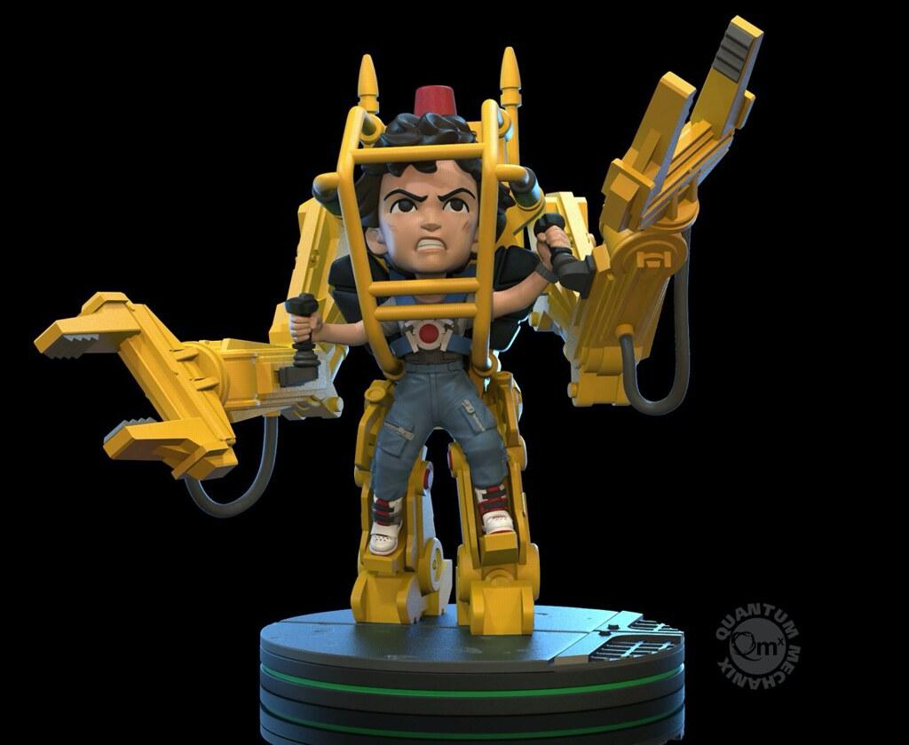 Quantum Mechanix《異形2》蕾普莉與工程機器人 Q-Fig Elite!女力爆發場景Q版再現