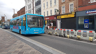 Arriva north east VDL SB120 plaxton centro 1924 YJ57BVC