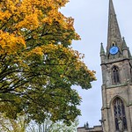 Autumn at St Ignatius Church in Preston