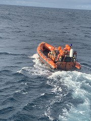 RIB launch and recovery on the MPV Hirta