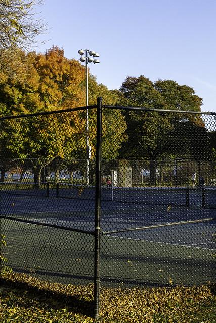 Fall Tennis Corner