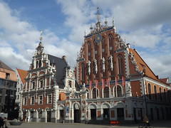 Melngalvju nams, Riga, Latvia