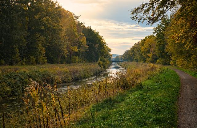 Herbst  Fluss