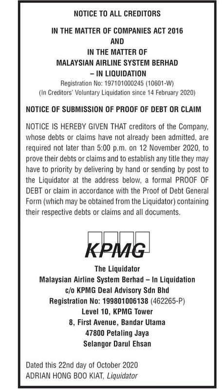 KPMG Malaysia airlines