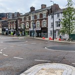 New road layout at the Adelphi in Preston