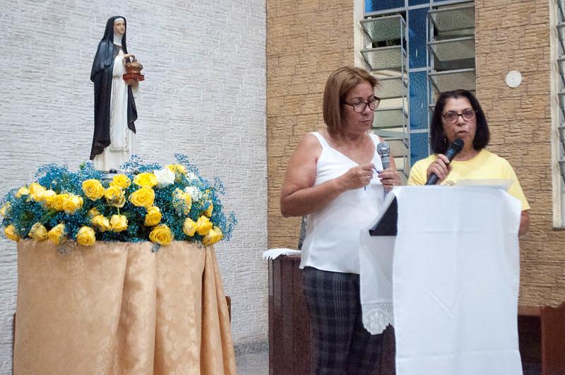 Festividade da Padroeira Santa Edwiges na paróquia Nossa Senhora Aparecida Cocaia