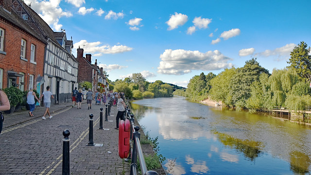 River Severn at Bewdley
