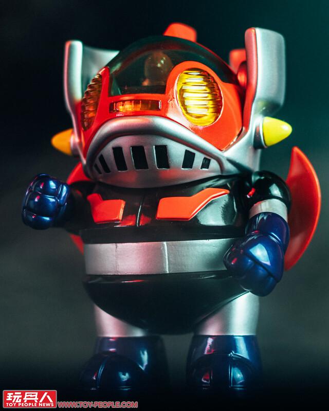 UNBOX × Chino Lam Workshop × 永井豪【MAGURO 無敵鐵金剛】玩具人全球搶先報!