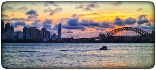 harbour harbourview harbourside cremornepoint sydney sydneyharbour dusk sunset