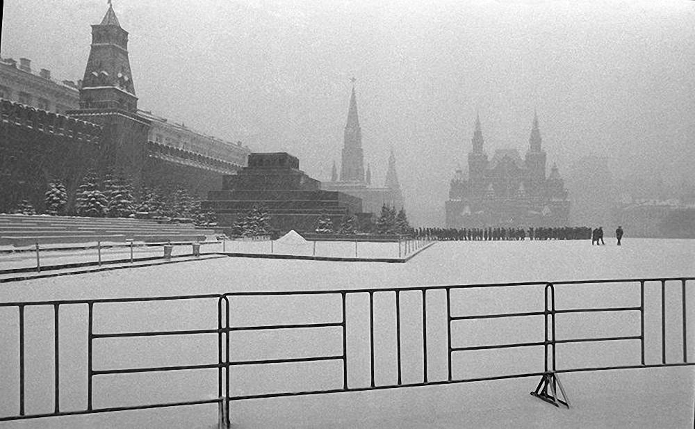1959. Красная площадь. Пасмурный день
