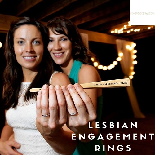 Choosing Lesbian Commitment and Engagement Rings