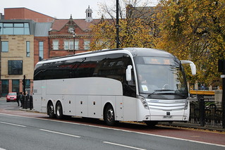 Go North East 7135 BV17GVF is seen laying over in Newcastle on 21 October 2020.
