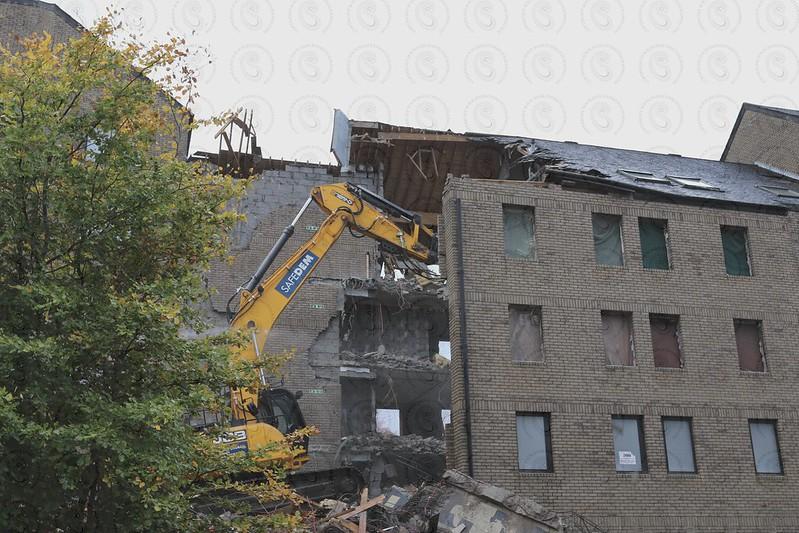 Westend Regeneration UWS Demolition