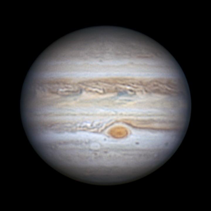 木星 (2020/8/1 21:45) (A + K 10%)