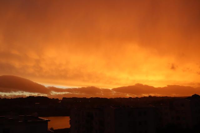 Złote niebo