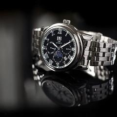 Orologio da polso automatico da uomo BREBOR con cinturino in acciaio inossidabile, movimento automatico, un regalo perfetto per ogni occasione