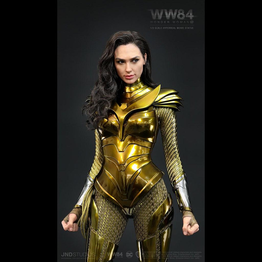 JND Studios《WW1984》神力女超人 金鷹裝甲 1/3比例全身雕像公開!