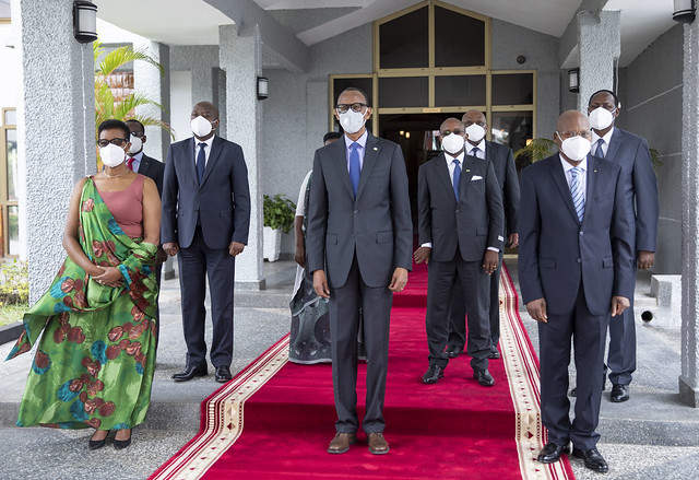 Swearing-in Ceremony of New Senators | Kigali, 22 October 2020