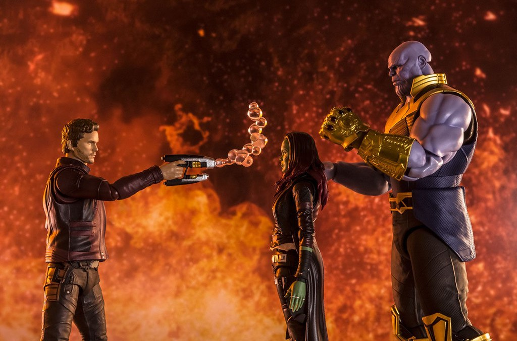 S.H.Figuarts《復仇者聯盟3:無限之戰》葛摩菈 可動人偶 再現令人衝擊的場景!