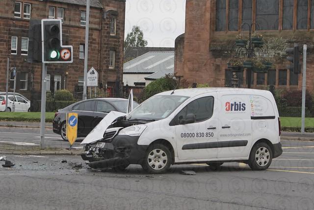 Gordon Street Accident