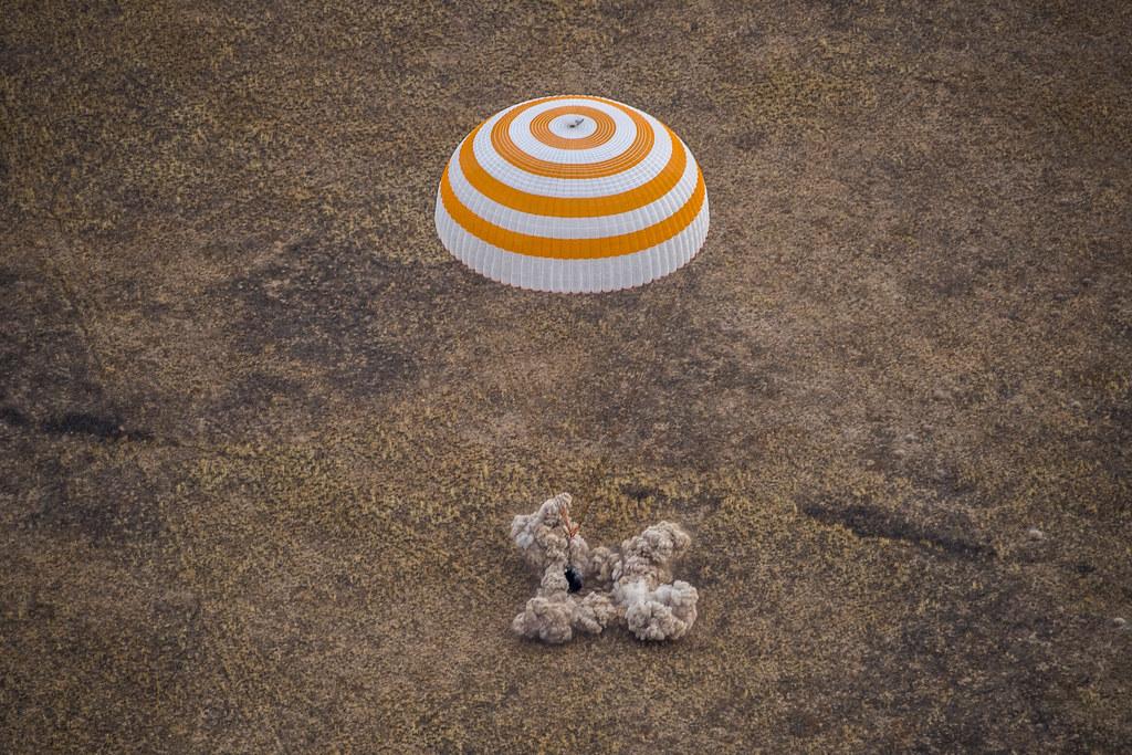 Expedition 63 Soyuz Landing (NHQ202010220005) Photo Credit: (NASA/GCTC/Denis Derevtsov)