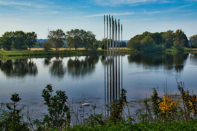 Walk around the lake...