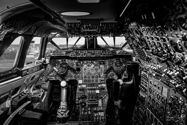 Concorde, le cockpit V2 D850