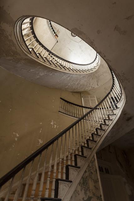teardrop steps.