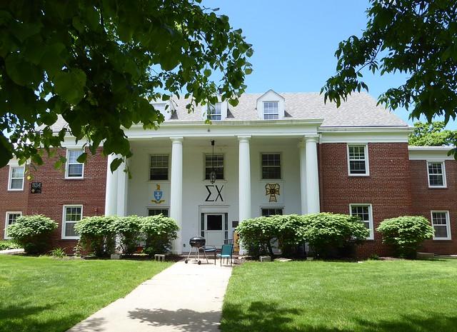 Beloit, Wisconsin, Beloit College, Visiting My Alma Mater, Still the Sigma Chi House