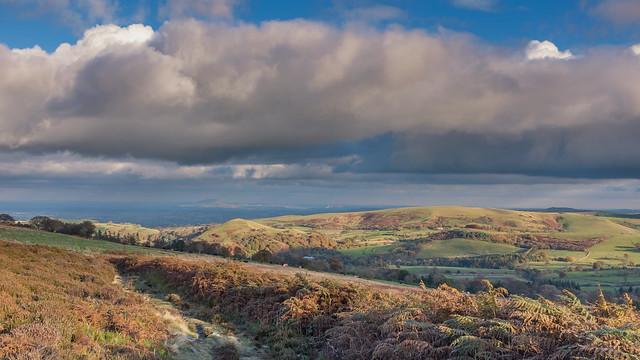 Sunlight on the Wrekin