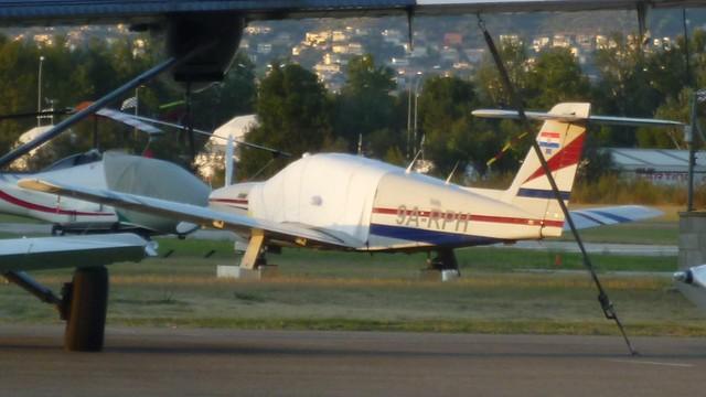 Piper Turbo Arrow en el aerodromo de Empuriabrava