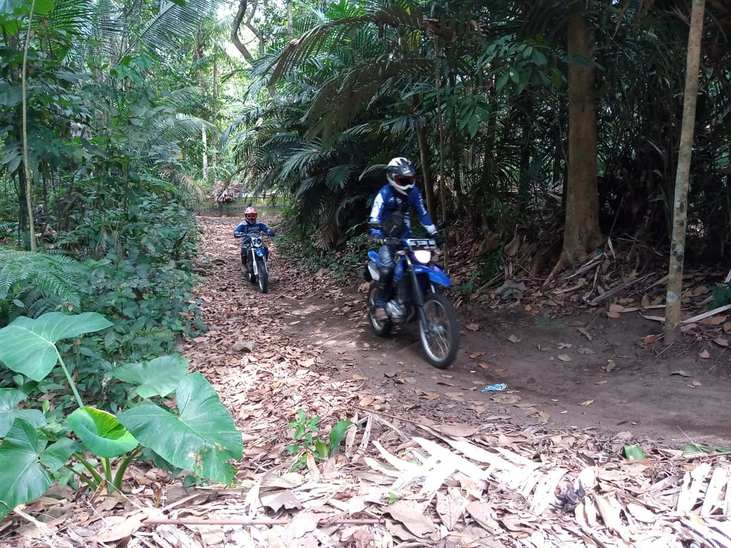 Fun Touring Yamaha WR 155R