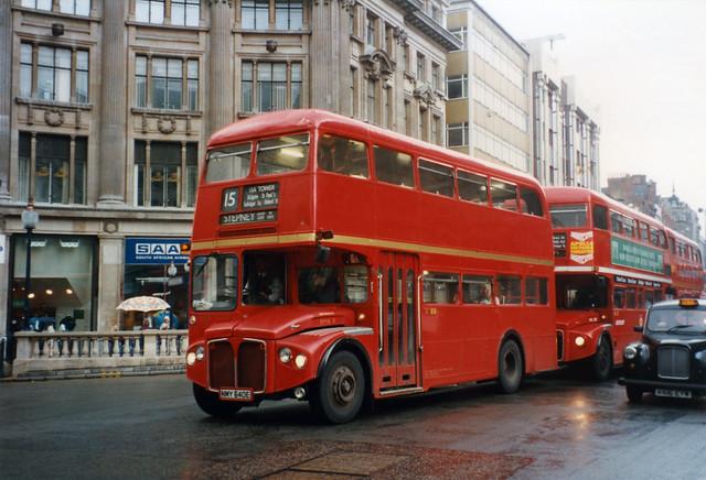 East London Routemaster RMA8 NMY640E