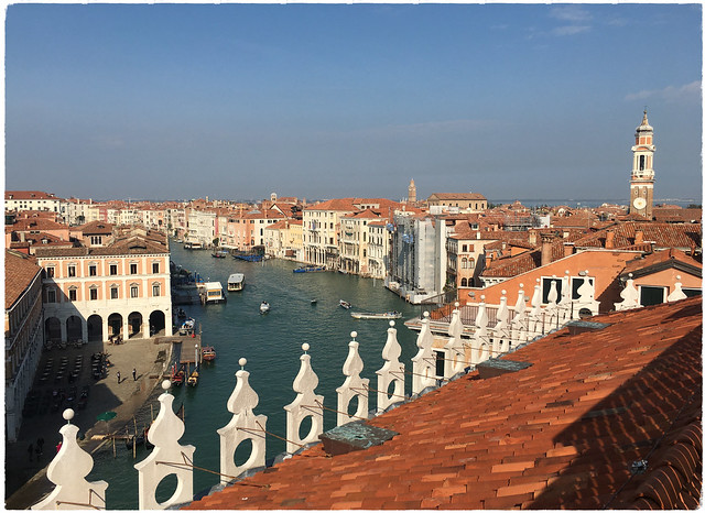 View of Canal Grande to the north.