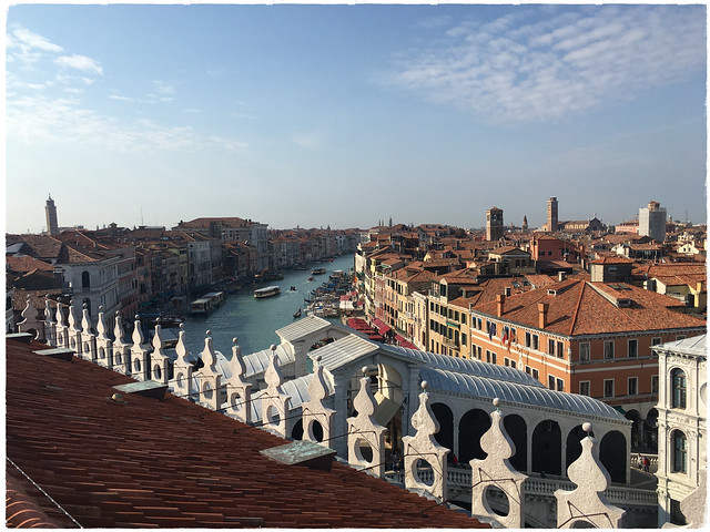 Canal Grande to the south.