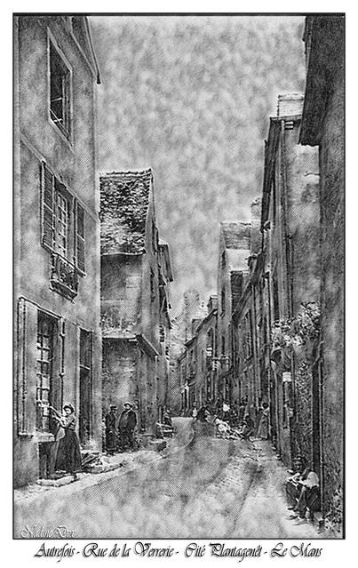 ~~Autrefois - Rue de la Verrerie - Le Mans