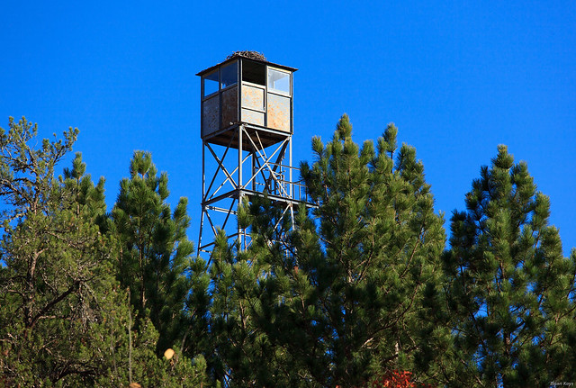 Brule Fire Watch Tower