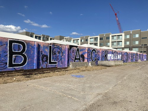 Black Lives Matter Mural - Tulsa, Oklahoma