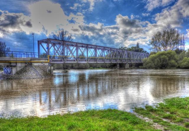 Bridge pond in Nová Ves