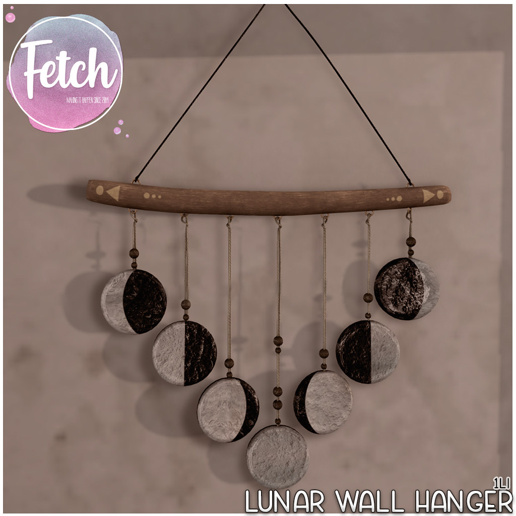 [Fetch] Lunar Wall Hanger @ Fifty Linden Friday!