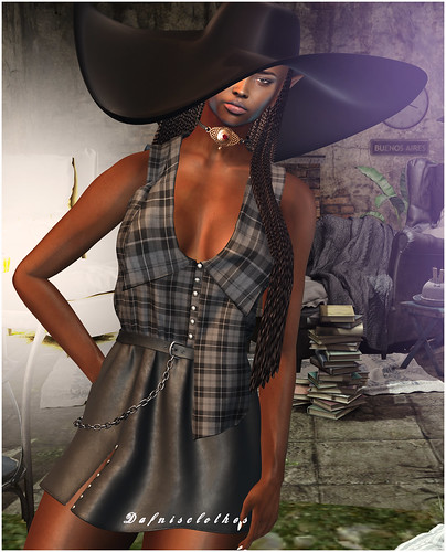 LOOK 3105 VANITY HAIR, MEVA, SESSION | by Sandra Serin & dafnis clothes (DAFNIS CLOTHES)