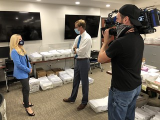 Interview with News 12 New Jersey | by Clerk Christine Giordano Hanlon
