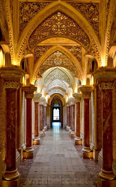 Interior do Palácio de Monserrate