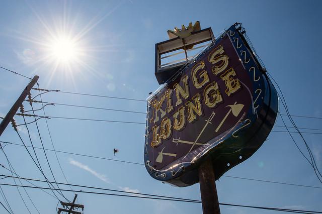 King's Lounge Sign in Shreveport
