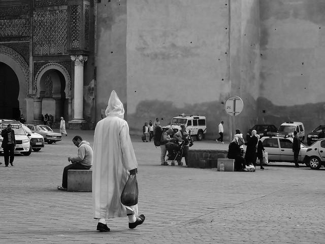 mystery man in Meknes