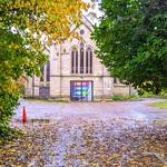 Autumn at St Paul's Church in Preston
